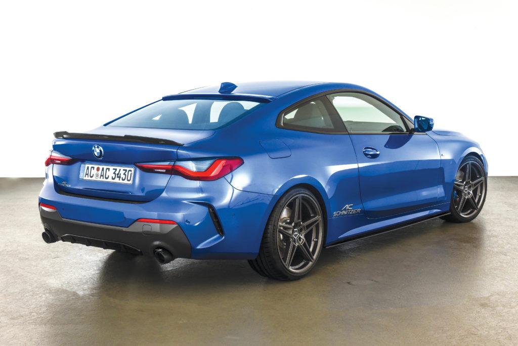Tuning-BMW-G22-440i-ACSchnitzer-widok od tyłu