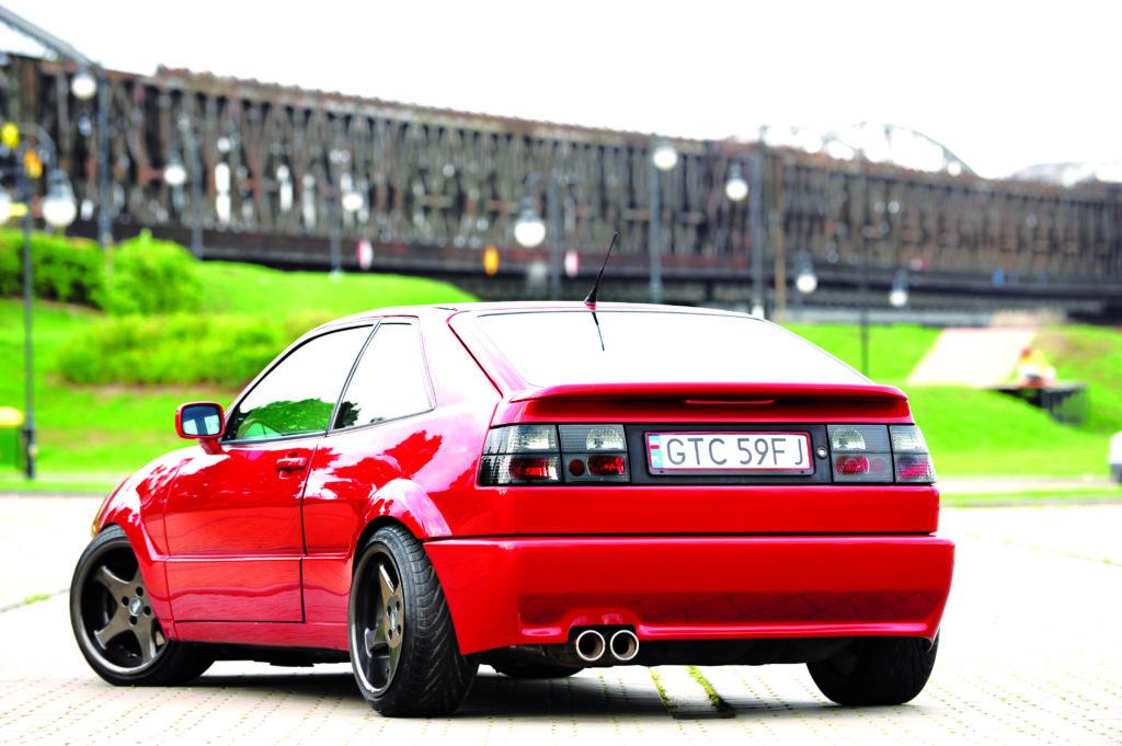 Tuning-Corrado-G60-widok od tylu