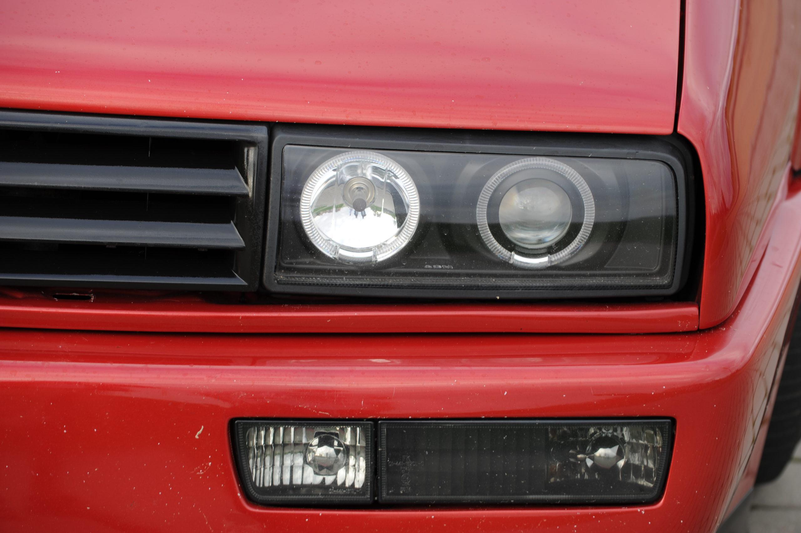 Tuning-Corrado-G60-przedni reflektor