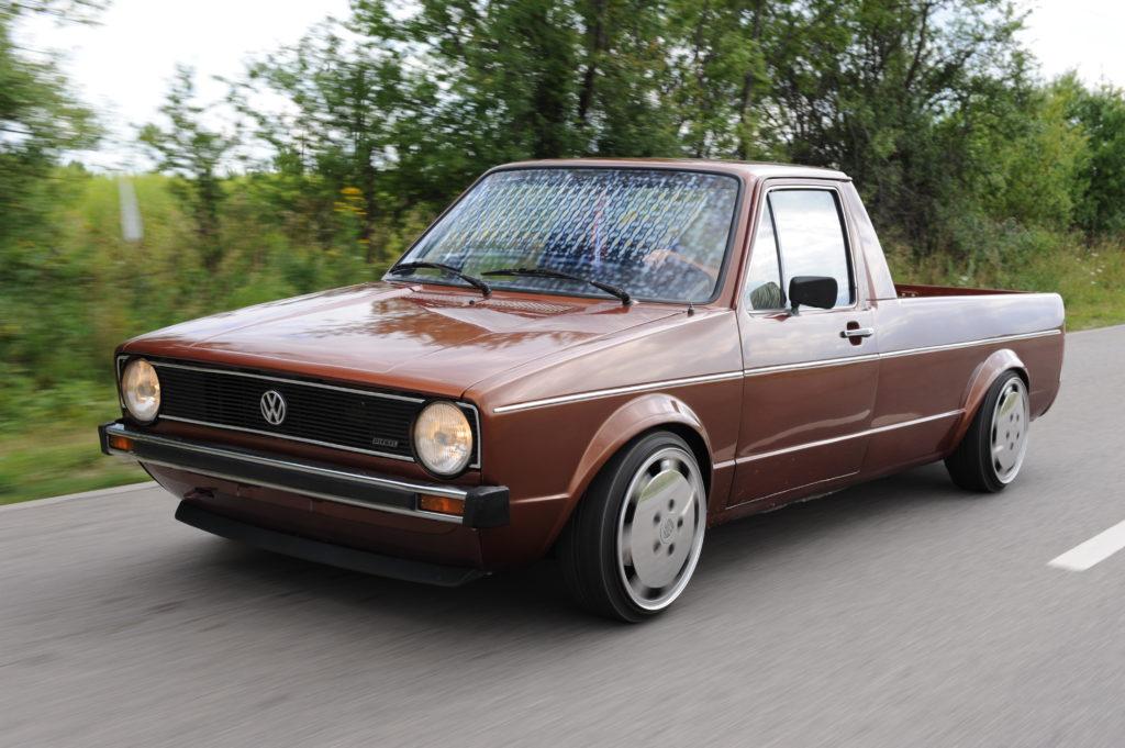 Tuning-VW-Caddy-Typ-14d-w czasie jazdy