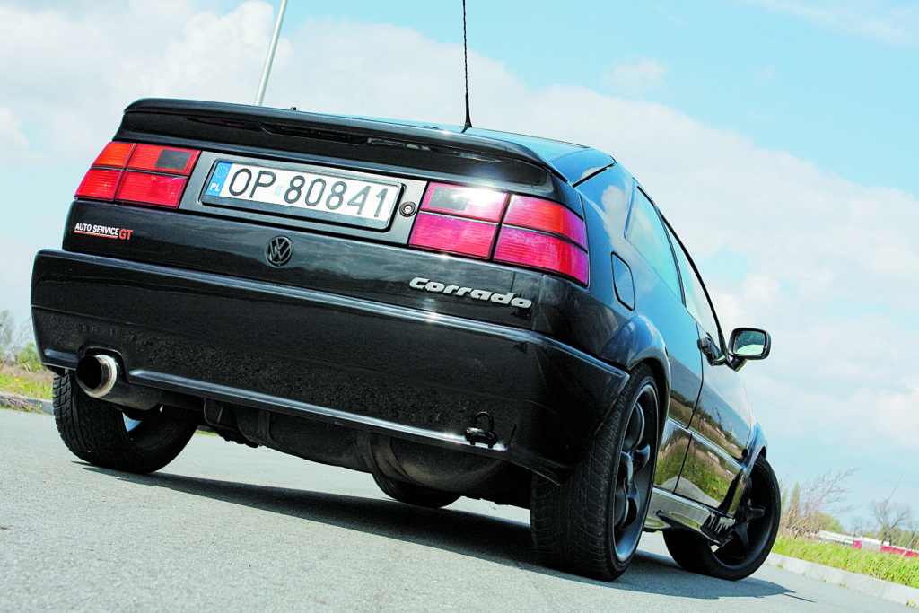 Tuning-VW-Corrado-2.0-8V-widok z tyłu