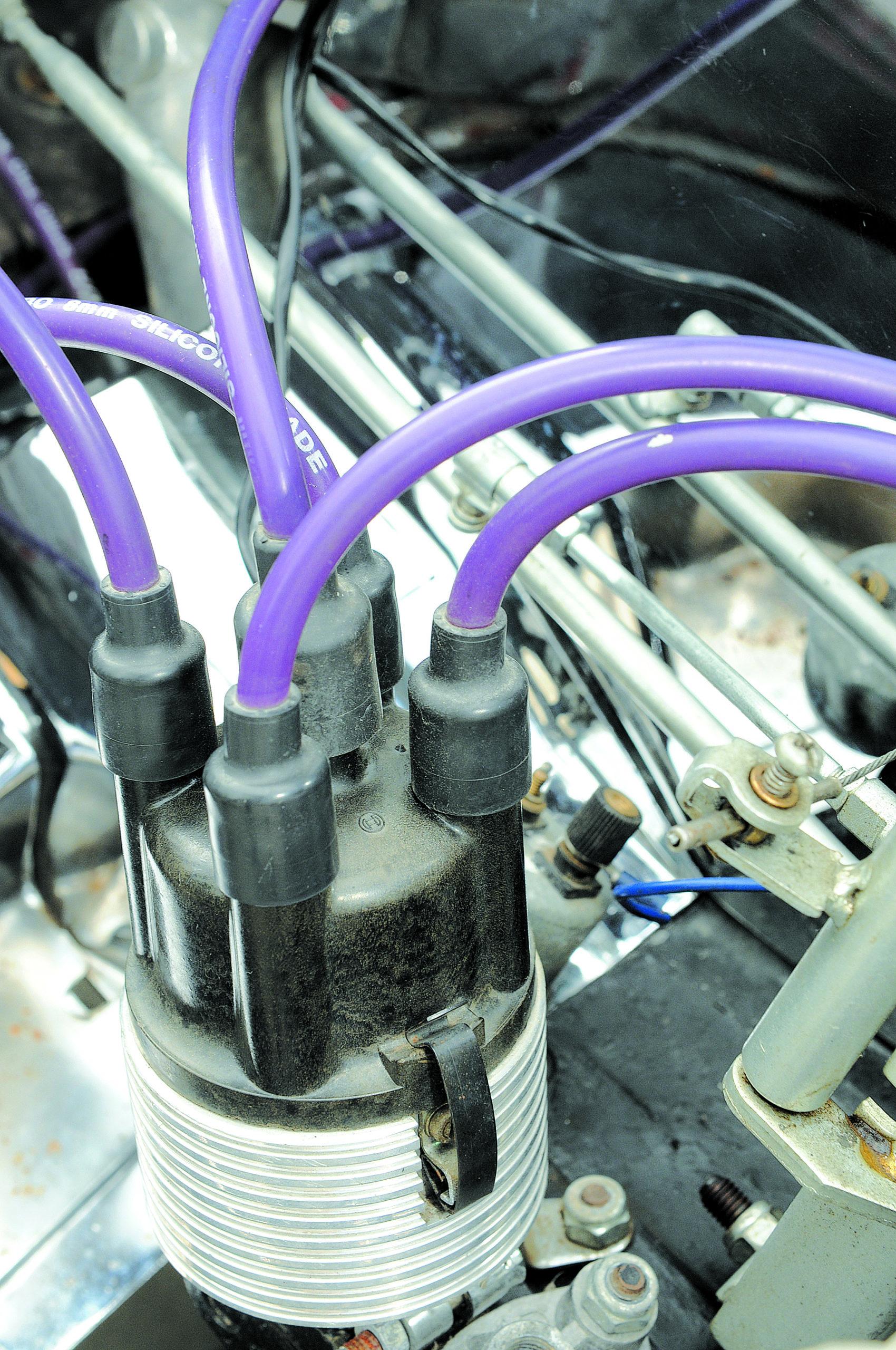 Tuning-VW-Garbus-Oval-aparat zapłonowy