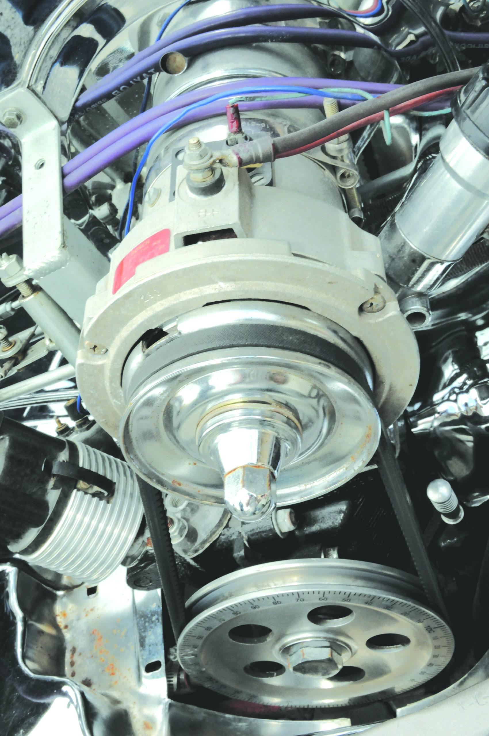 Tuning-VW-Garbus-Oval-koło pasowe