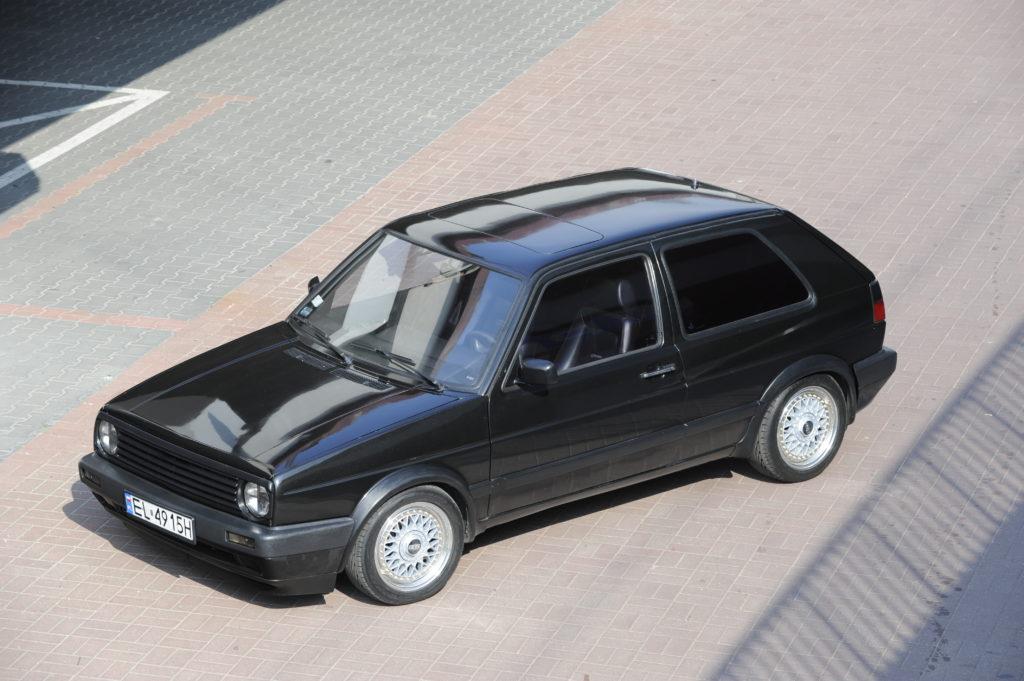 Tuning-VW-Golf-2-1.8-widok z góry