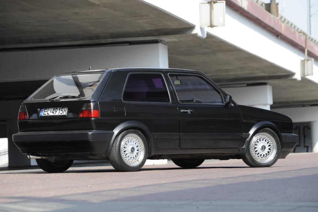 Tuning-VW-Golf-2-1.8-widok z tyłu