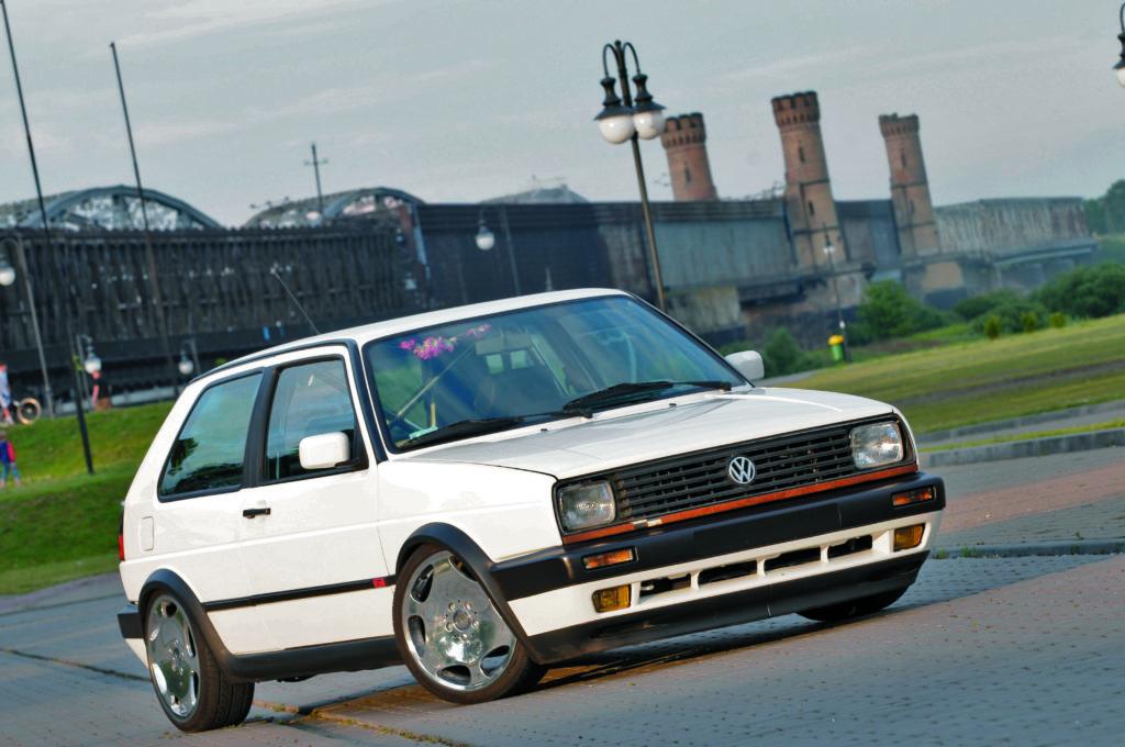 Tuning-VW-Golf-2-G60-widok z przodu
