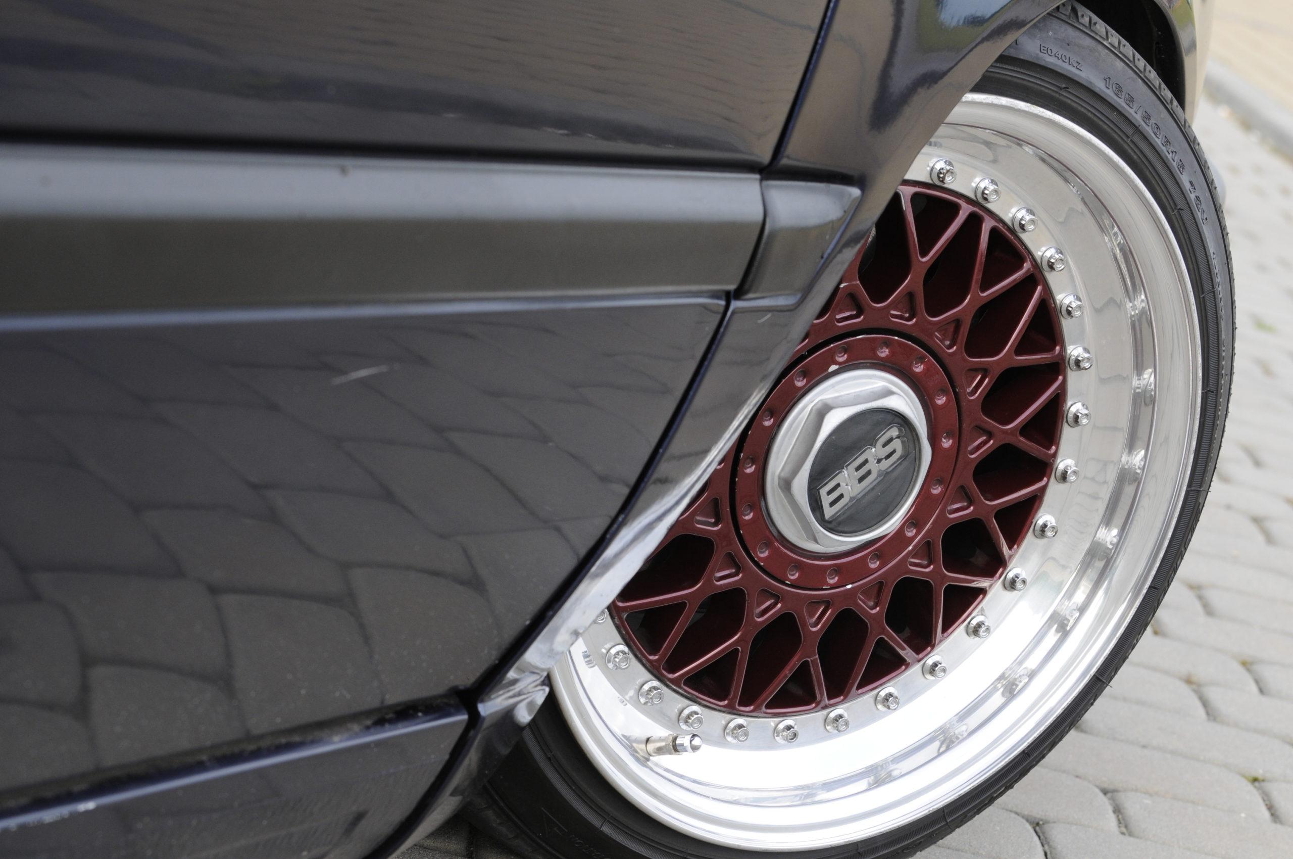 Tuning-VW-Golf-3-1.8-GL-koło BBS