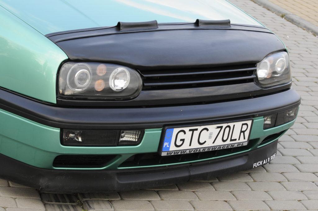 Tuning-VW-Golf-3-GL-przód auta z BRA