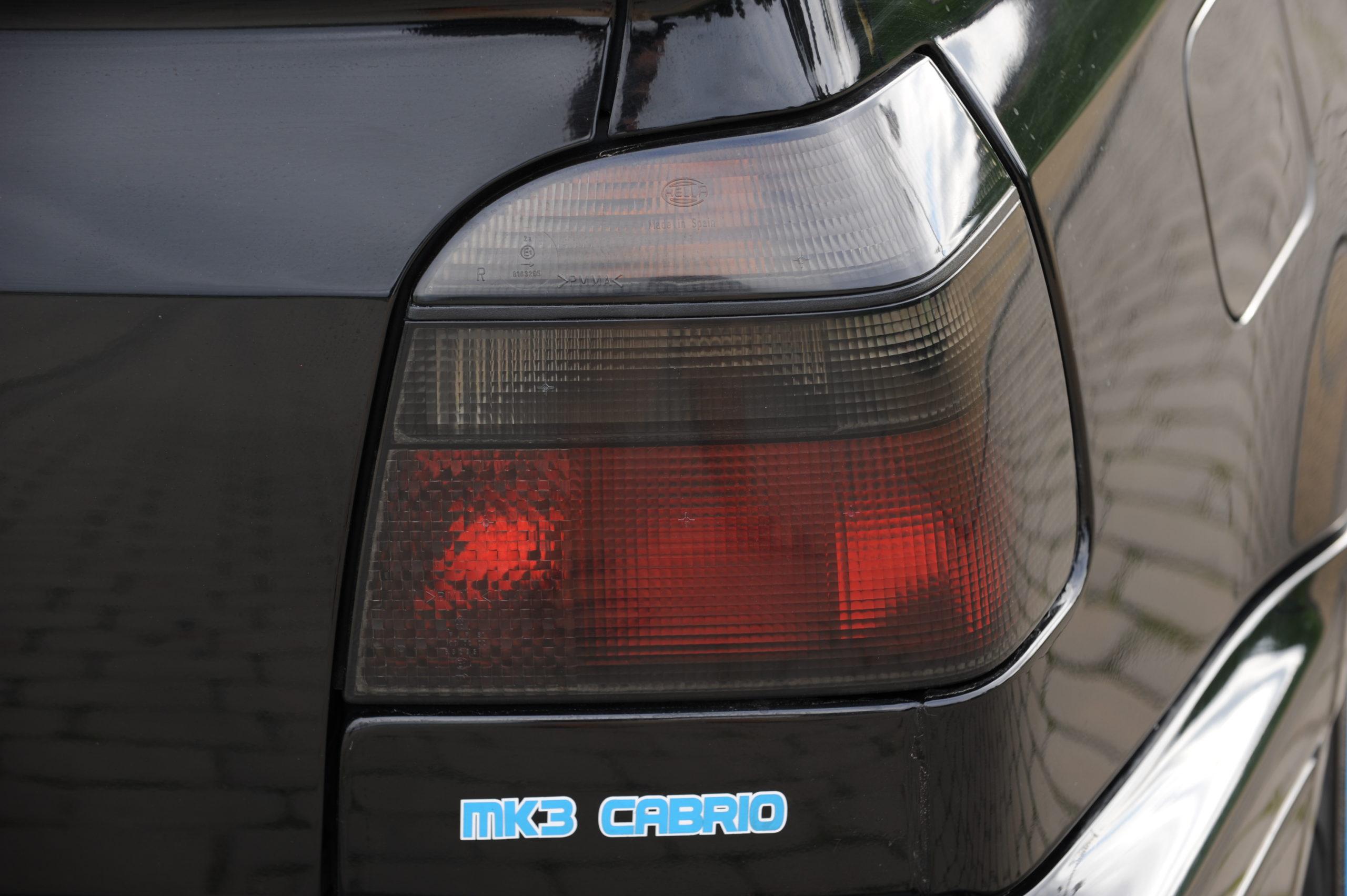 Tuning-VW-Golf-3-cabrio-tylna lampa