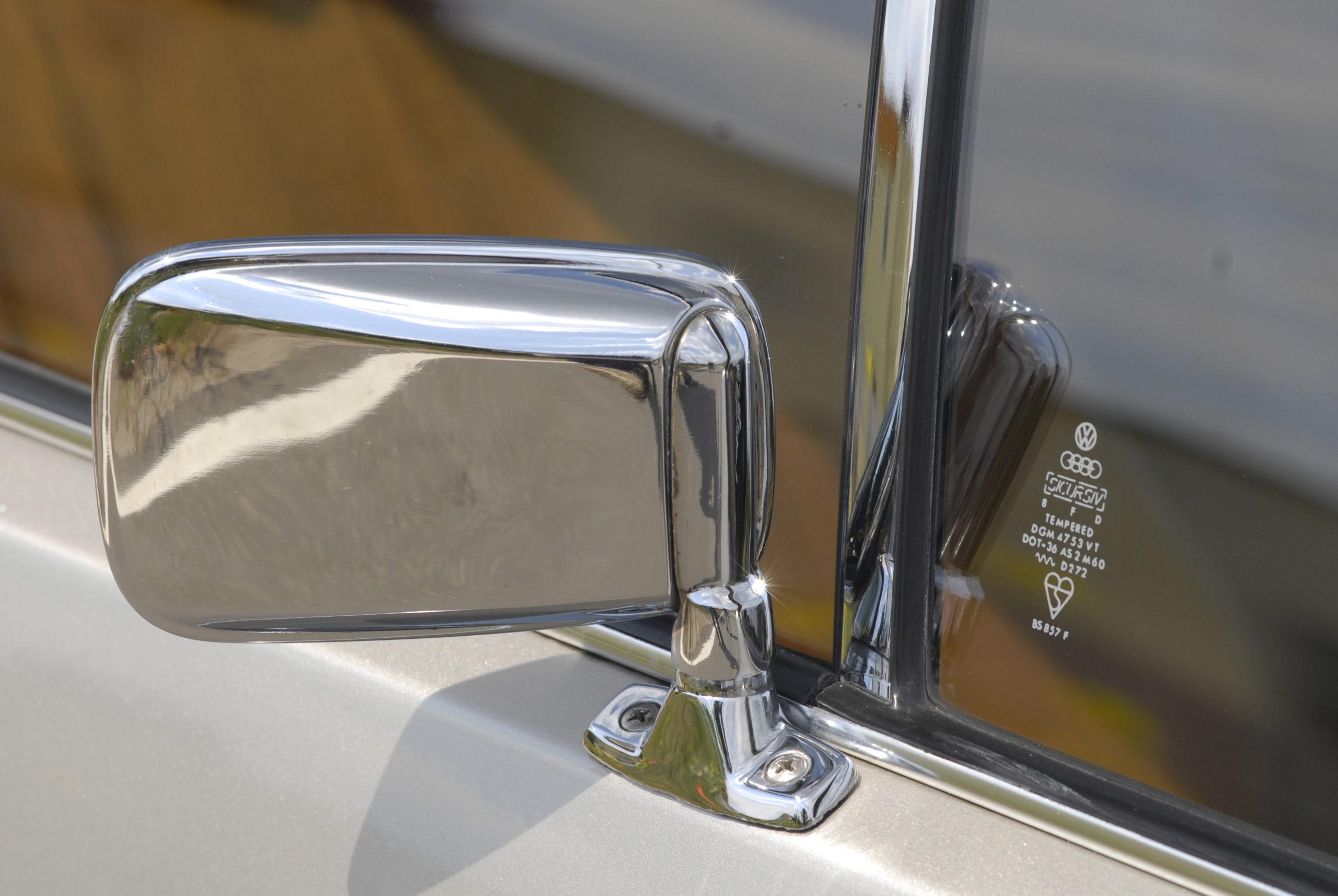 Tuning-VW-Golf-Mk1-CL-chromowane lusterko