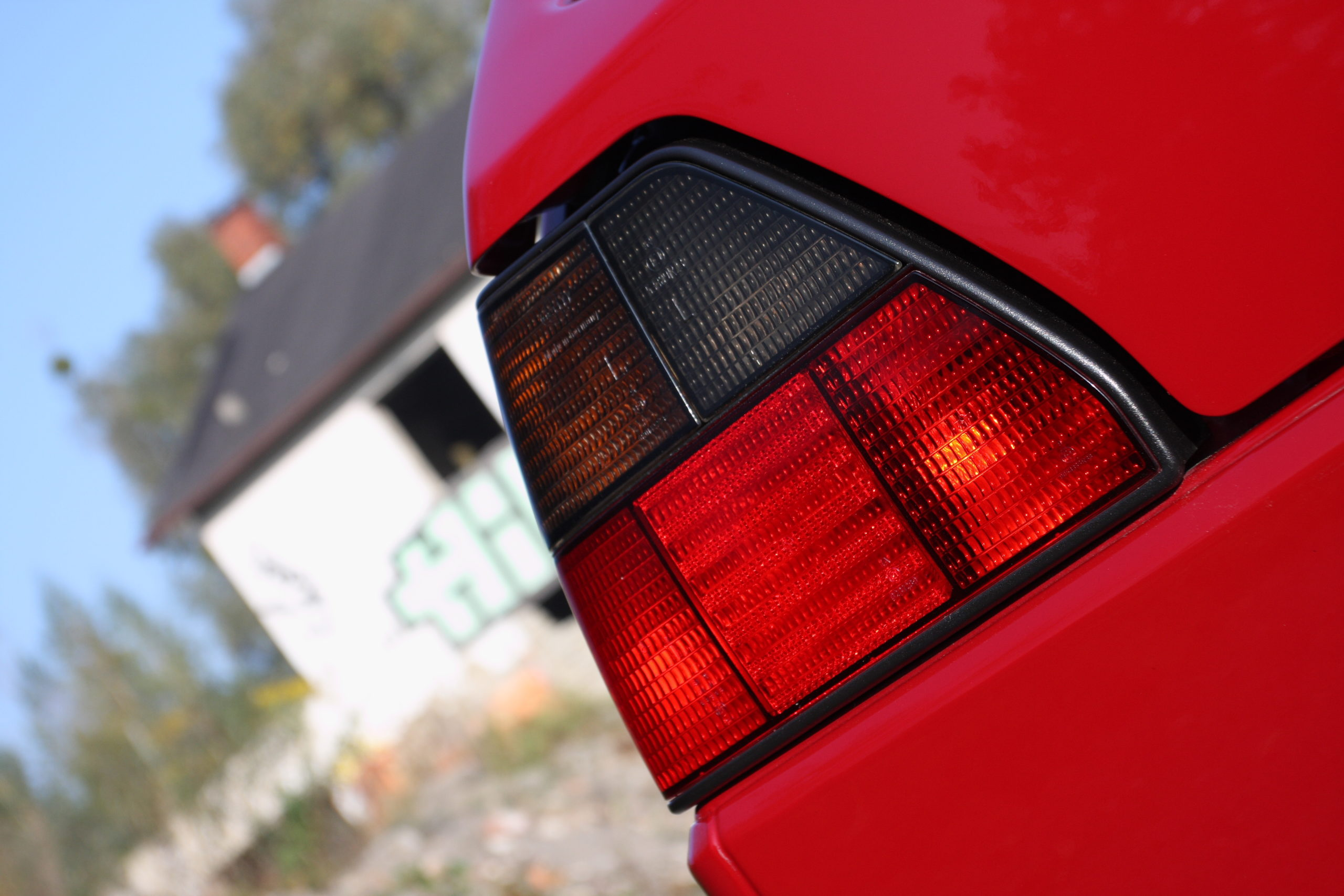 Tuning-VW-Golfa-Mk2-tylna lampa