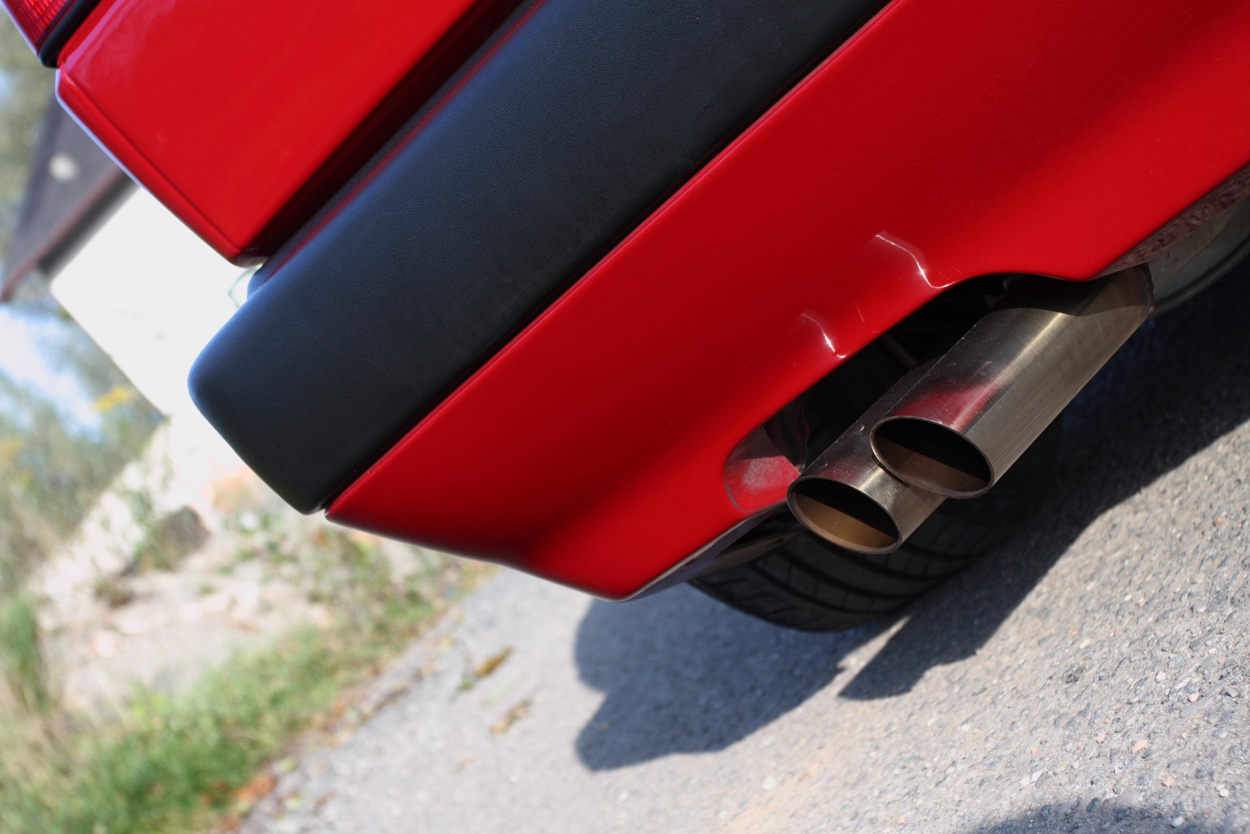 Tuning-VW-Golfa-Mk2-końcówka wydechu