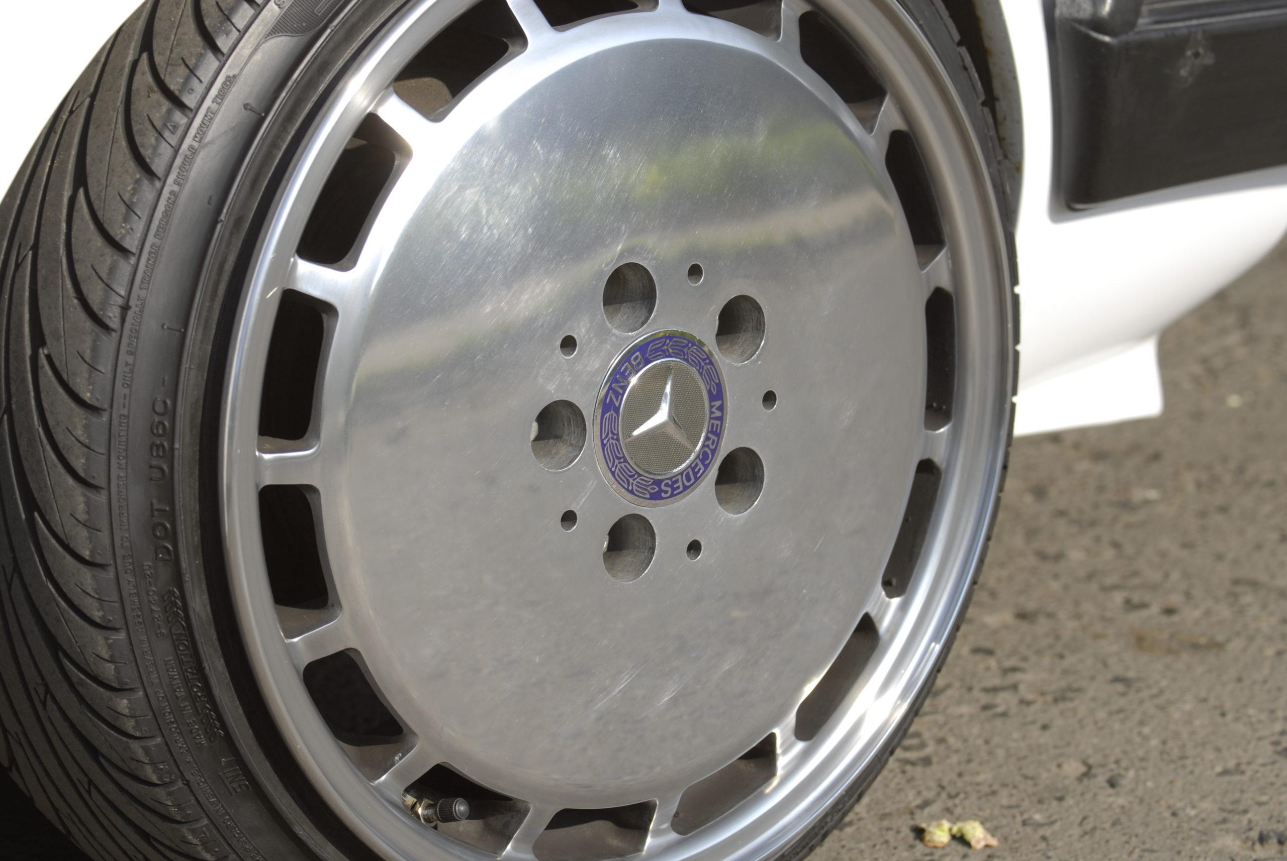 Tuning-VW-Jetta-MK1-koło od mercedesa