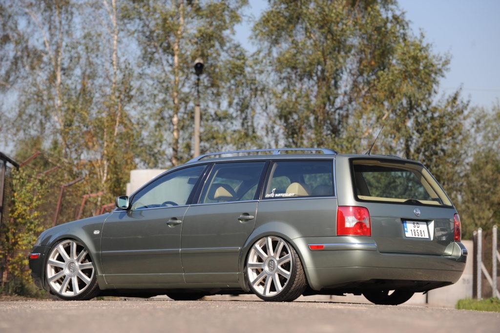 Tuning-VW-Passat-B5FL-Variant-1.9-TDI-widok od tyłu