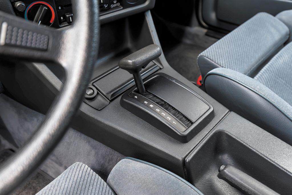 Tuning_BMW_E30_320iA_dzwignia biegów