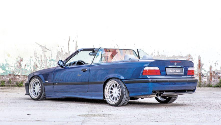 Tuning_BMW_E36_cabrio_widok_od_tyłu