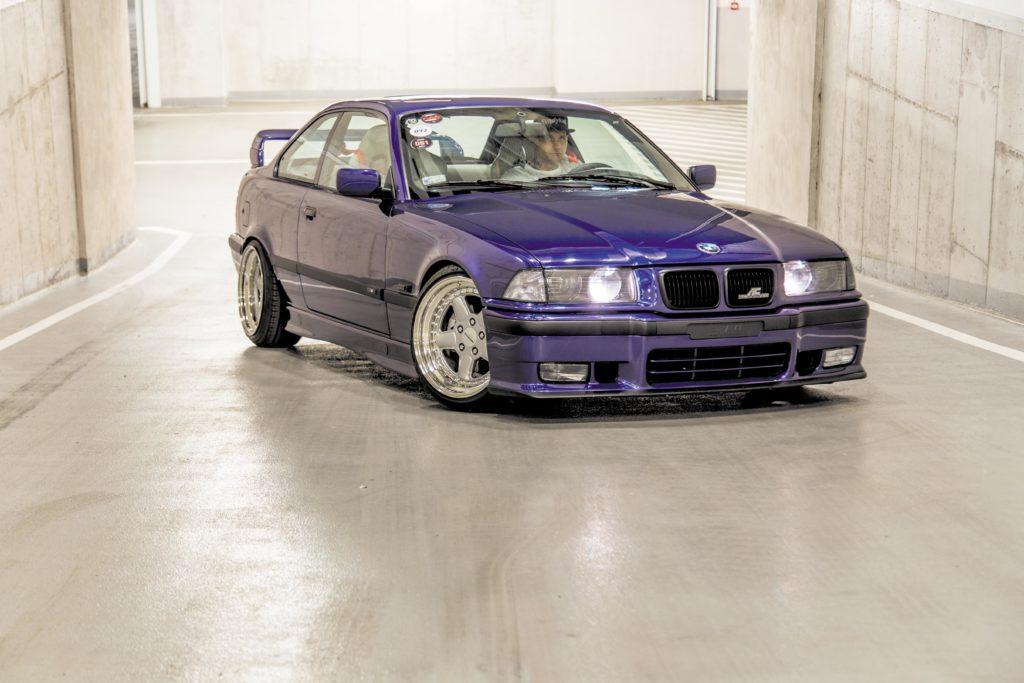 Tuning_BMW_E36_coupe widok z przodu