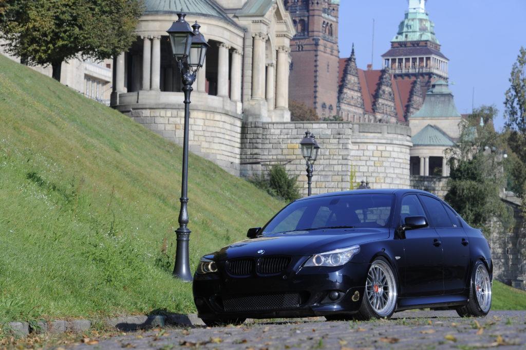 Tuning_BMW_E60_widok z przodu