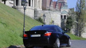 Tuning_BMW_E60_widok z tyłu