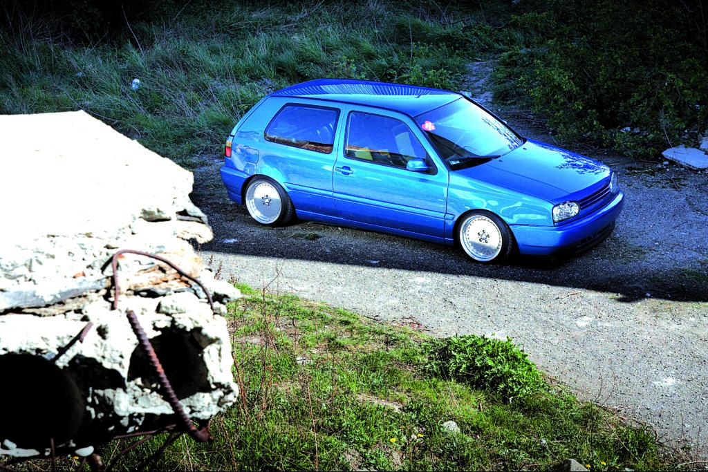 Tuning_VW_Golf_3_VR6_widok_z_góry