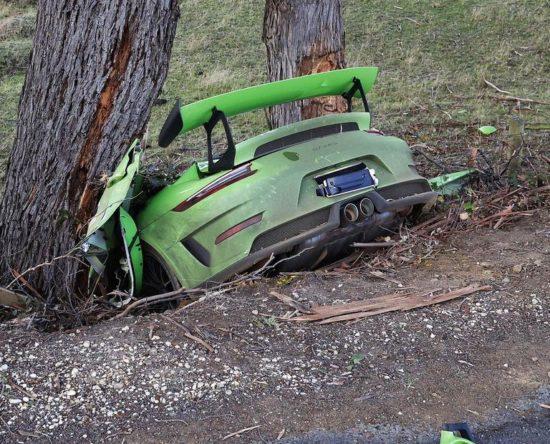 targa tasmania wypadek