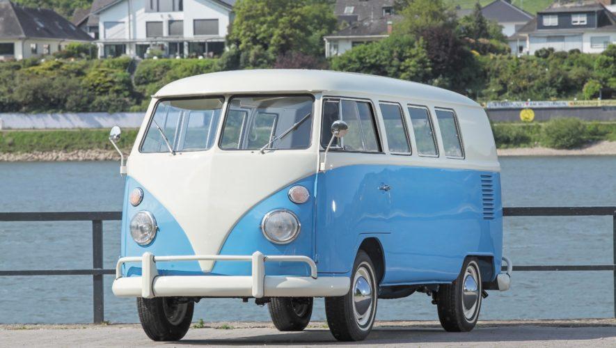 VW T1 widok z przodu