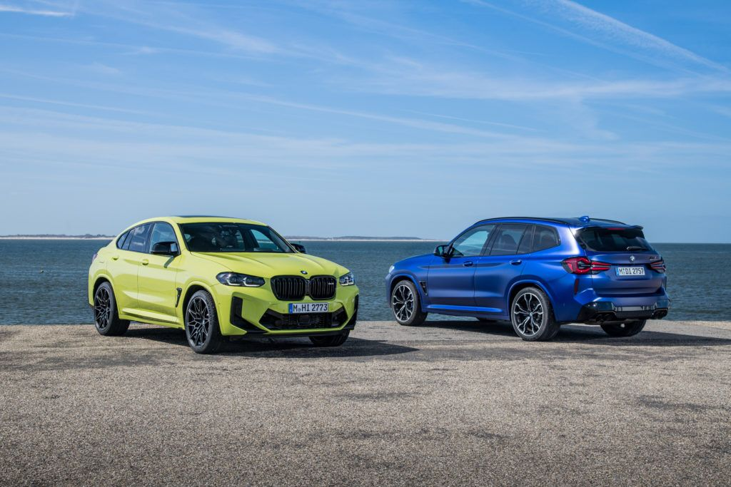 BMW X3 M X4 M Competition